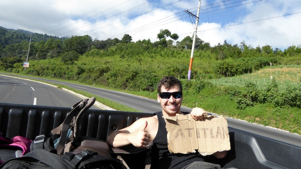 Hitchhiking in Guatemala