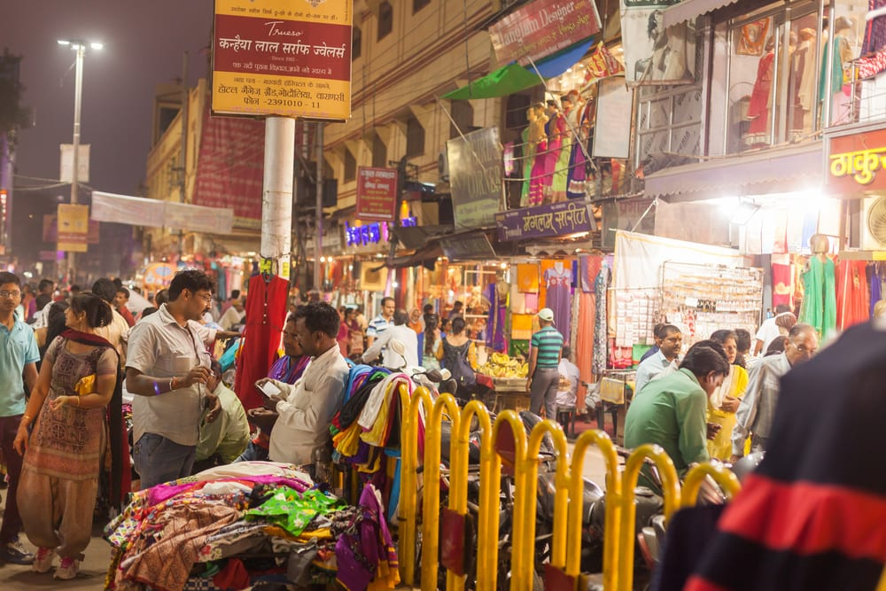 Varanasi, India - there's no better place to learn how to haggle
