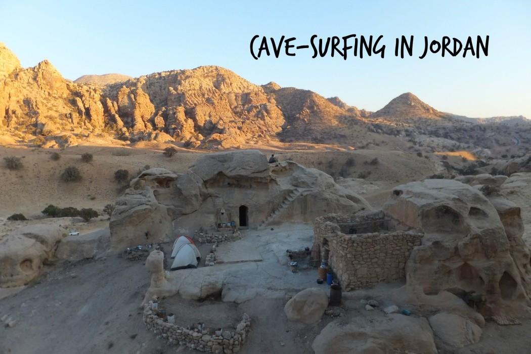 CouchSurfing in a Cave Jordan
