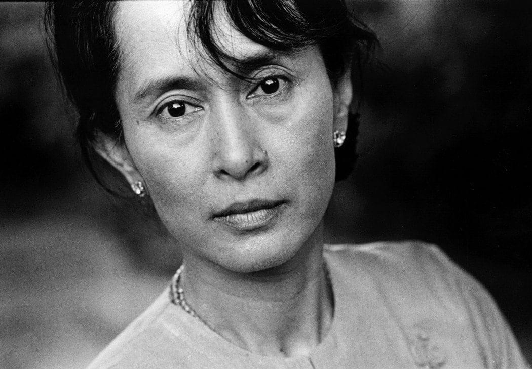 Aung San Suu Kyi - a major political figure in modern Myanmar