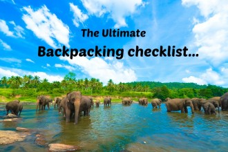 Essential Backpacking Items List for Travelers