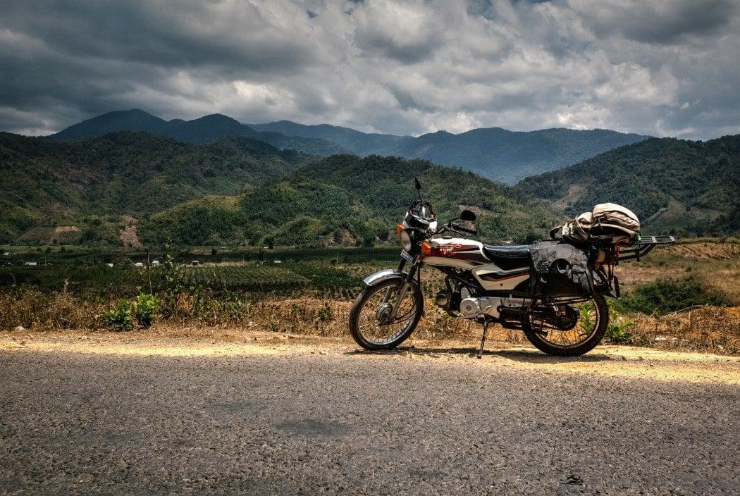 A backpacker's motorbike rental in Myanmar