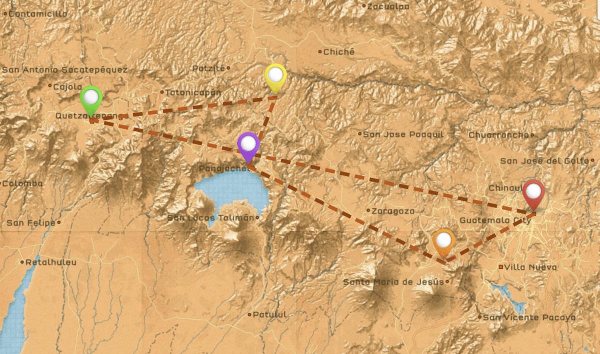 guatemala highlands itinerary 2 weeks