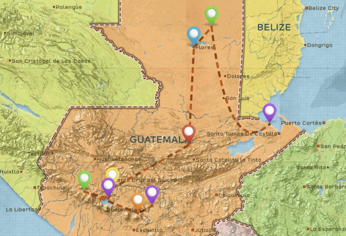 Guatemala Highlights Itinerary