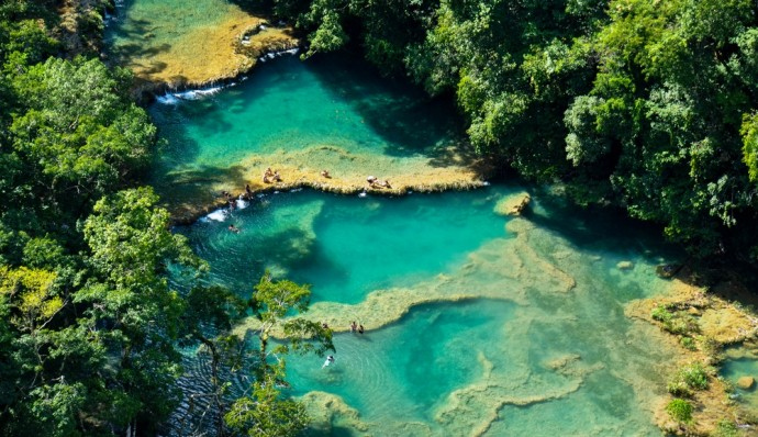 Semuc Champey Pools Guatemala