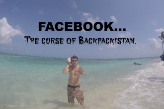 Should you use Facebook while Backpacking