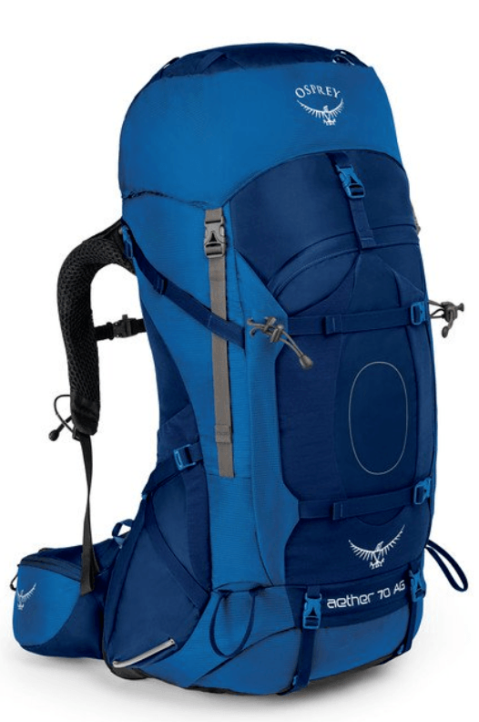 The Osprey Aether 70 Litre is the best bag on the market