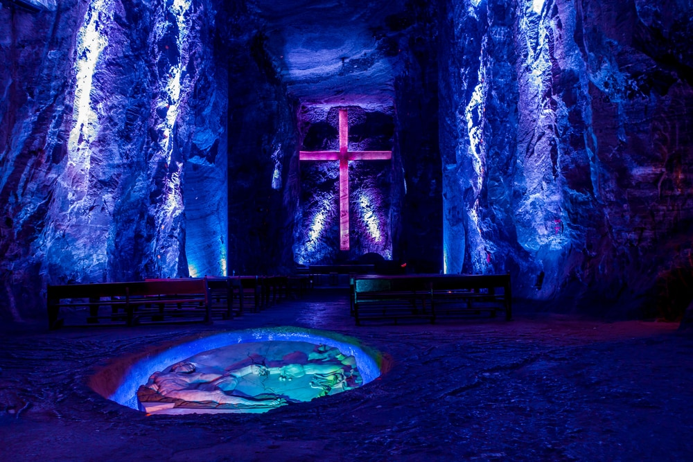 The Zipaquira Salt Cathedral; a tale of faith.