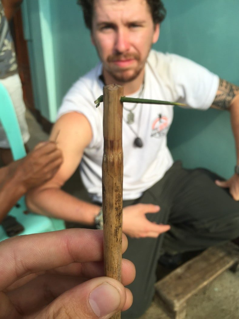 Kalinga tattoo in the Philippines with The Broke Backpacker