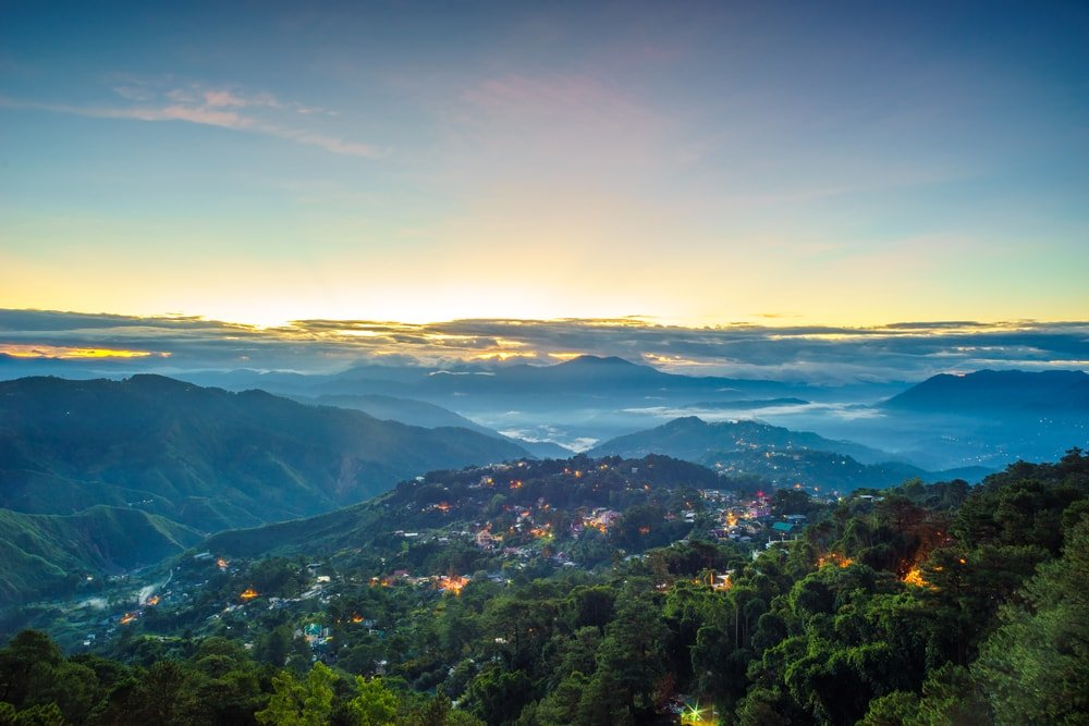 Baguio City - the base for organizing Mt. Pulag tours