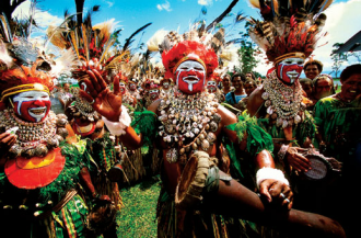 Sing Sing in Papua New Guinea
