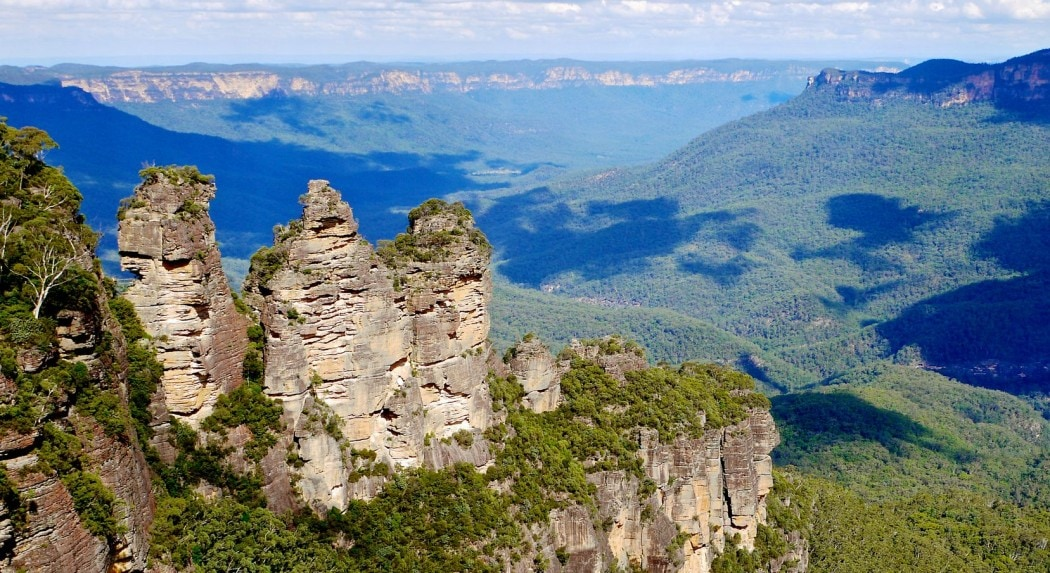 Australia road trip to the Blue Mountains, New South Wales