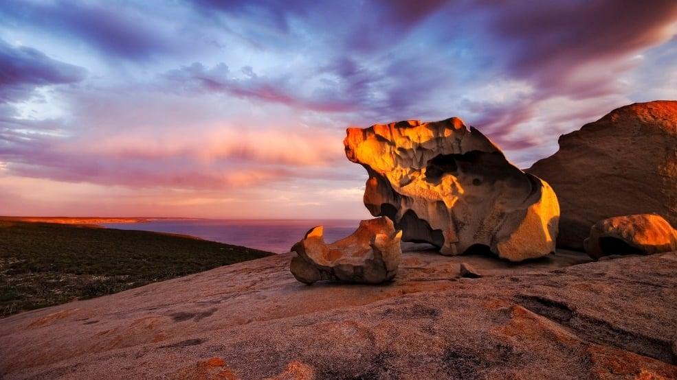 Kangaroo Island off the coast of Australia