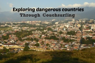 Couchsurfing in dangerous countries, like Venezuela, with The Broke Backpacker