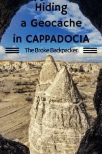 Geocache in Cappadocia