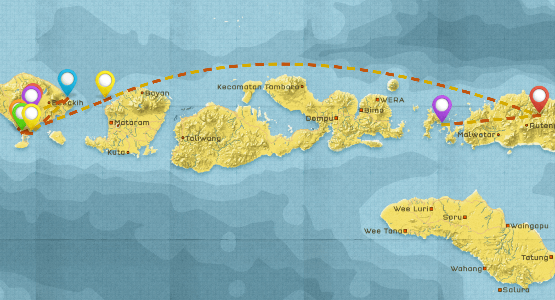 Bali to Flores Indonesia Itinerary #3