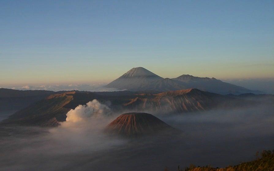 Visiting Indonesian volcanos