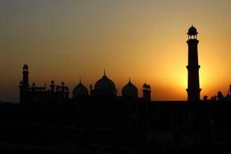 mesmerizing view of Pakistan sunset
