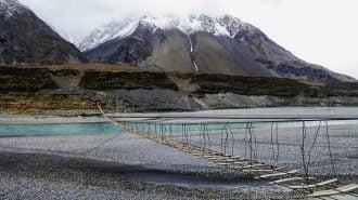 Adventure bridge in Pakistan