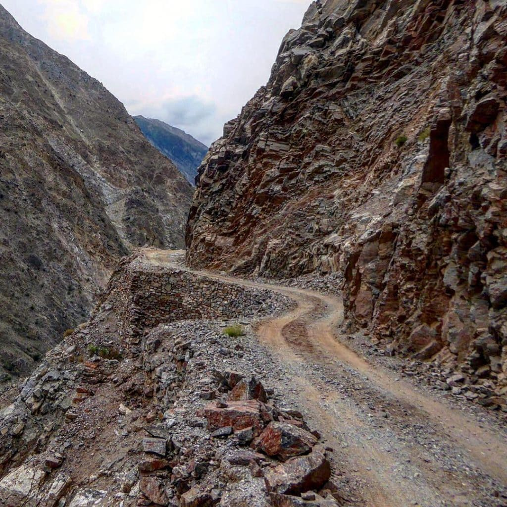 Jeep track to Fairy Point from Raikot Bridge