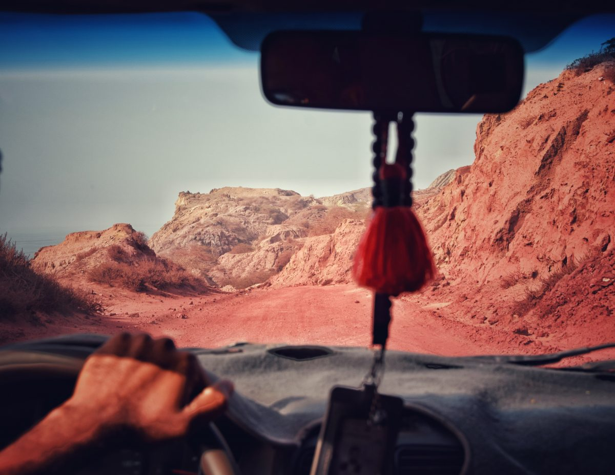 adventure to hormuz red road to hidden beaches