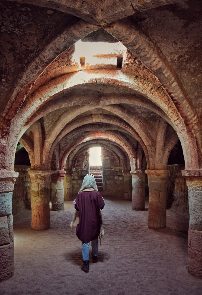 adventure to hormuz underground chapel
