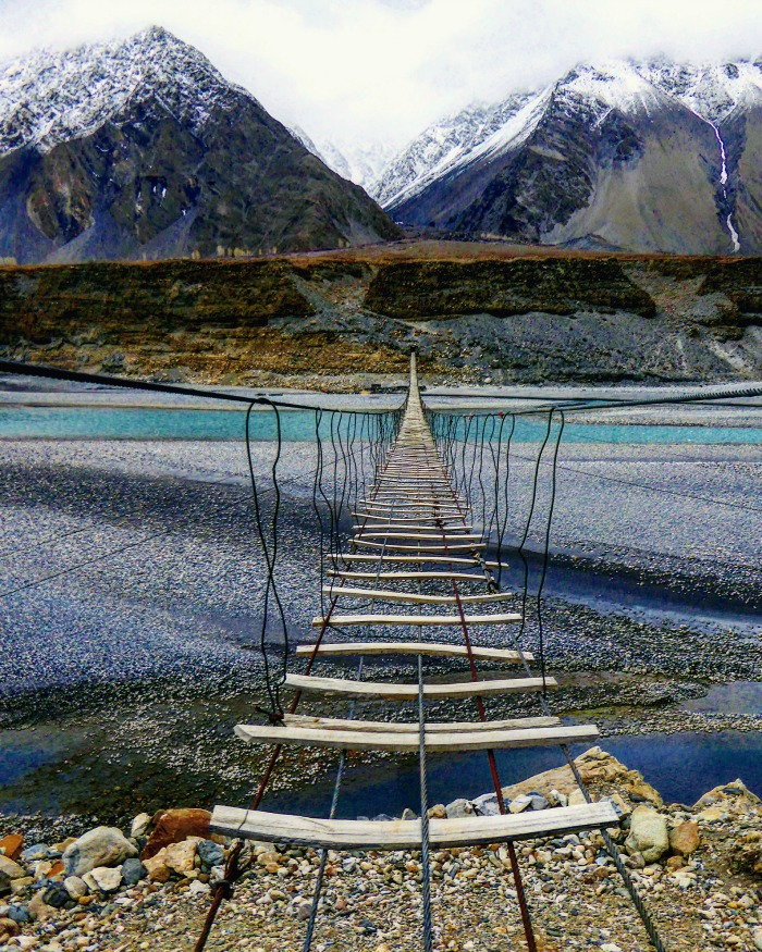 Travel to Pakistan to see this adventure bridge