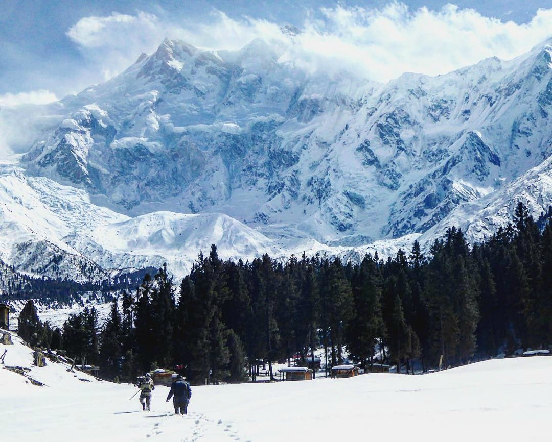 Fairy meadows hikes in pakistan
