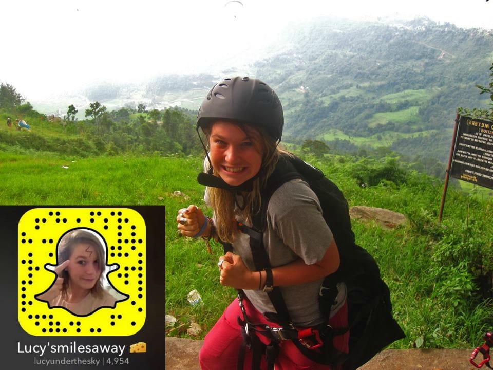 Snapchat Stars Lucy's Miles Away