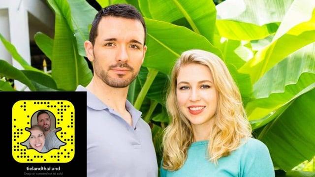 Snapchat Stars Tieland to Thailand