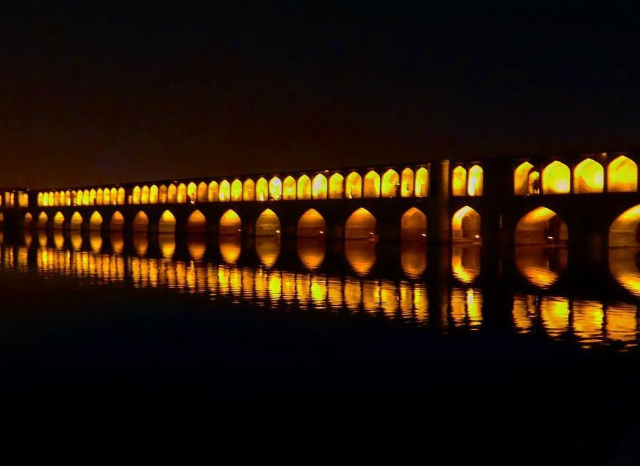 Visiting Esfahan - another common place to visit on Iran's backpacking trail