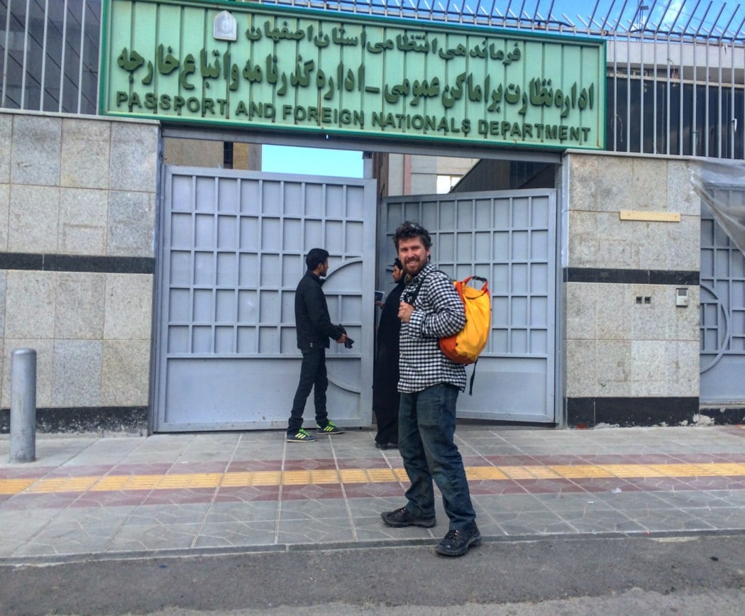 Extending my visa while traveling Iran