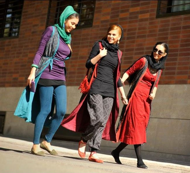 Some women in Tehran, Iran