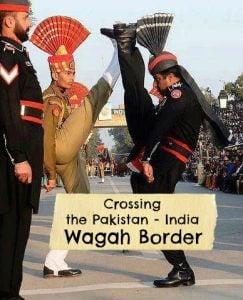wagah border crossing