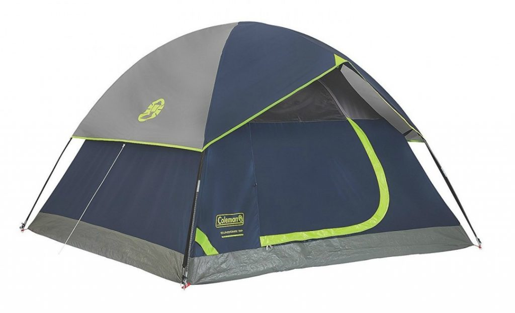 Coleman sundome tent for backpackers