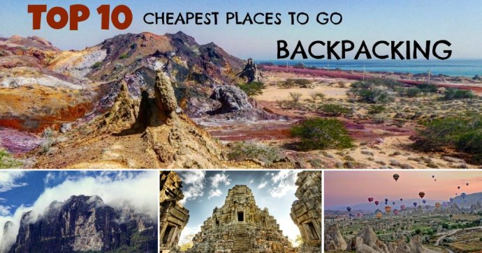cheap places to travel around the world on just 10 a day
