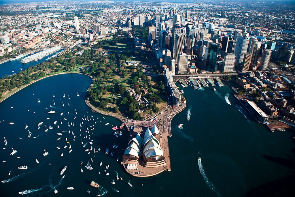 Sydney Harbour and the Opera House - a must-see place in Australia