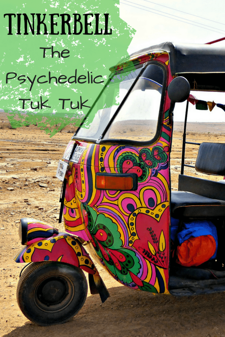 A rickshaw race, an insane, stupid and incredible adventure across a subcontinent in a multi-coloured rickshaw.