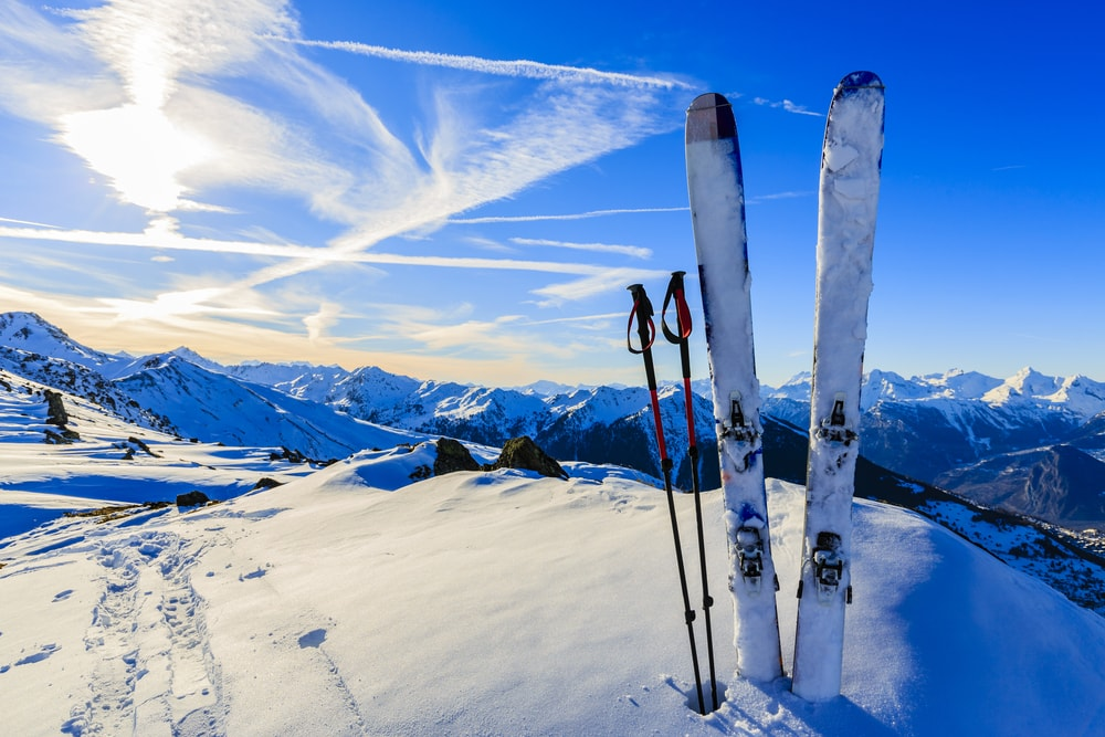 Ski resort supplying seasonal work for travellers