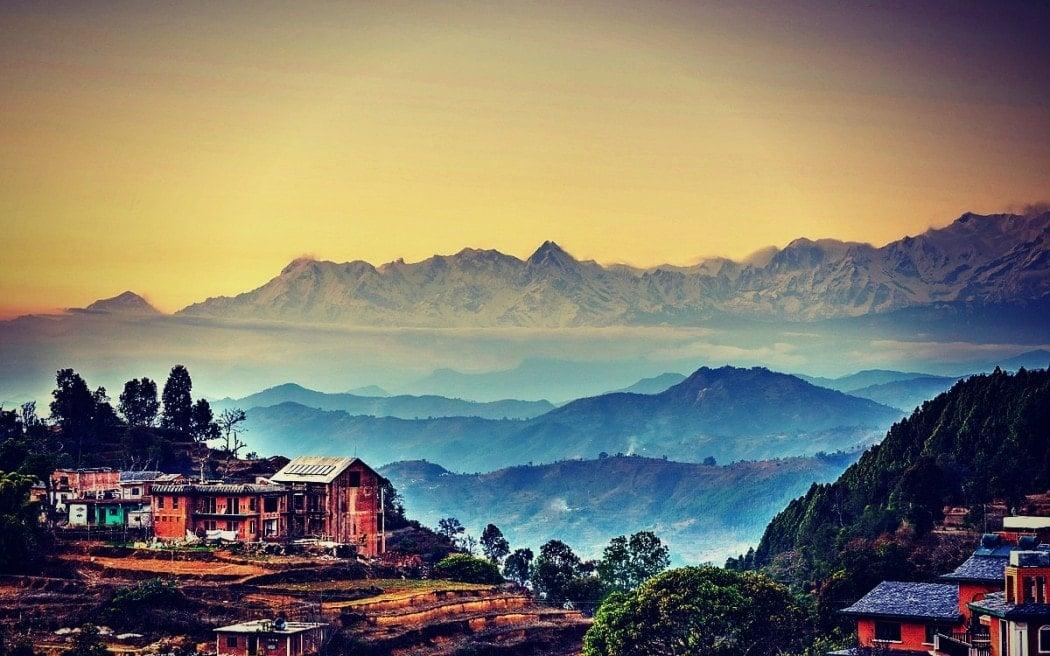 backpacking Nepal