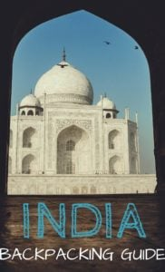 India Backpacking Travel Guide PIN
