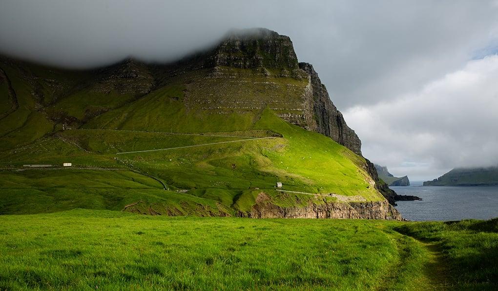 Faroe Islands- Gasadalur route mountain view 2-1-2