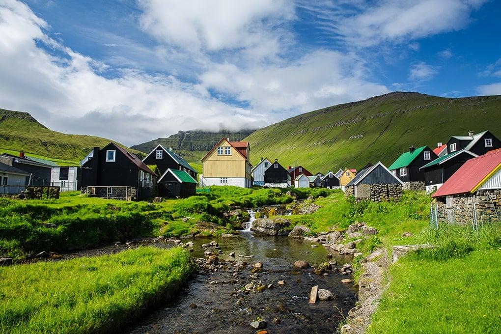 Faroe Islands- Gjogv