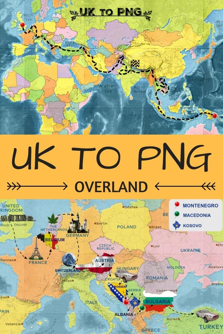 UK to PNG