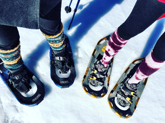outdoor fitness-snowshoe