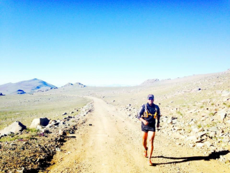 Outdoor fitness-Trail running