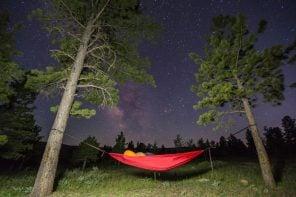 star gazing in Hammock