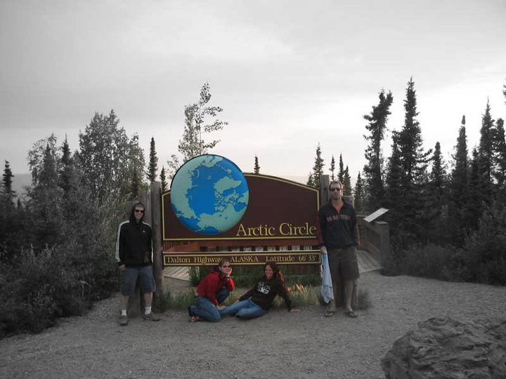 Alaska road trip-Arctic Circle