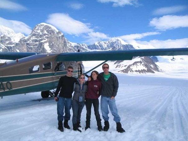 Alaska road trip-Ruth Glacier