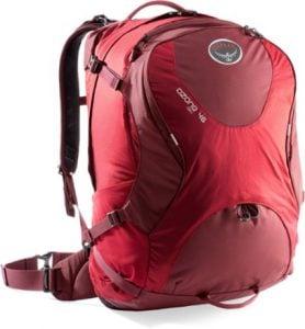 Osprey Ozone Travel Pack the best travel backpack
